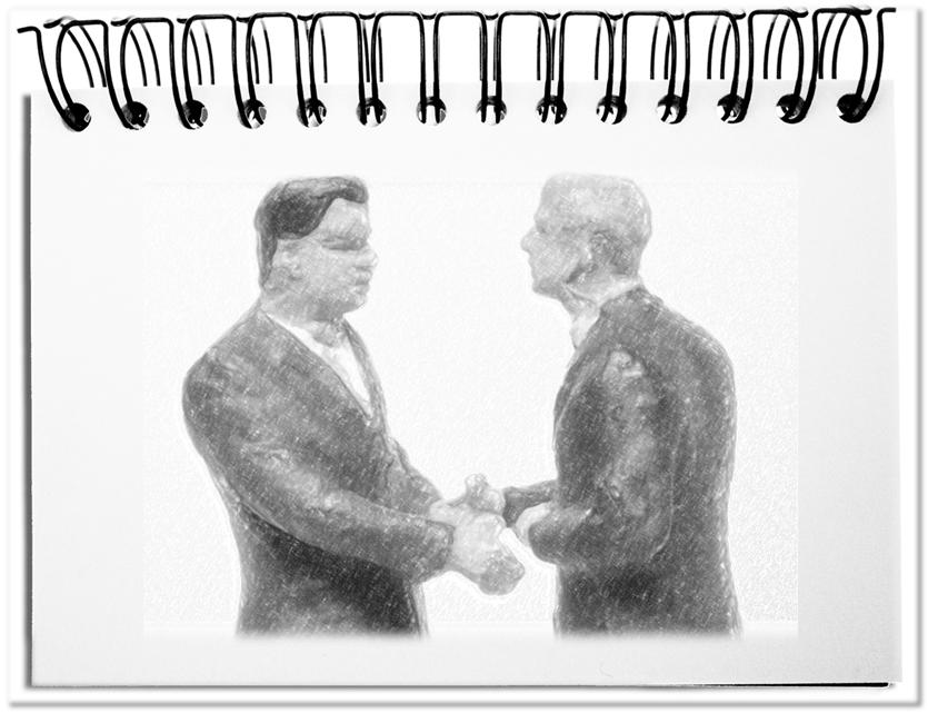 Verhandlung ist gegenseitige Bereicherung
