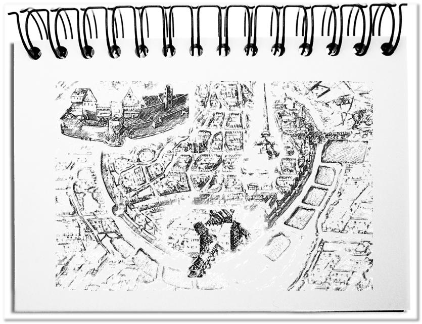 Eine mittelalterliche Stadt - die ideale Metapher für eine Plattform