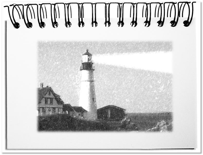 Der Leuchtturm - die ideale Metapher für einen Referenzpunkt