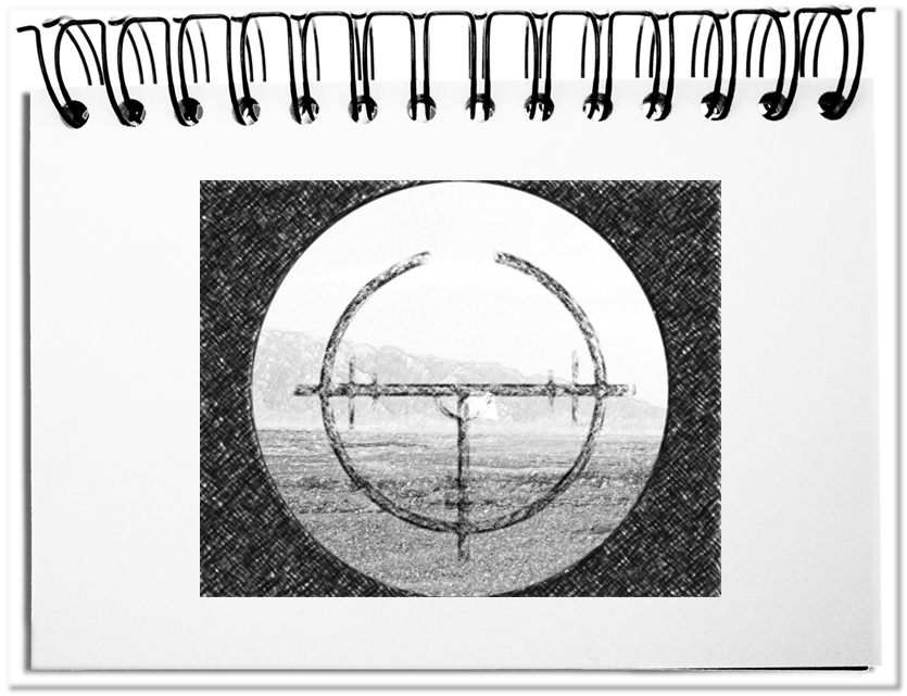 Das Fadenkreuz - die ideale Metapher für das Zielen