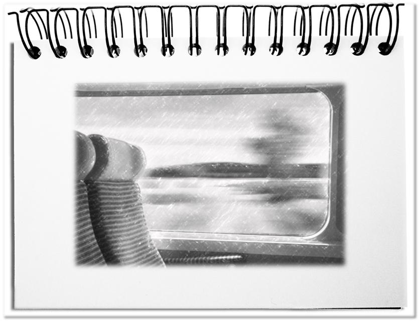 Die Sitzrichtung in der Eisenbahn - die ideale Metapher für zeitliche Horizonte